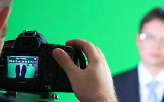 Как убрать фон на видео