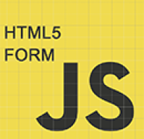 Форма html js