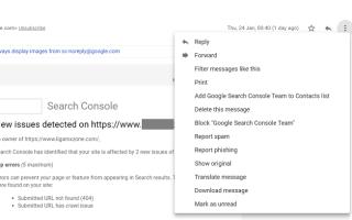 Как заблокировать адрес электронной почты