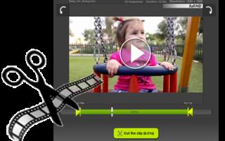 Замазать надпись на видео онлайн