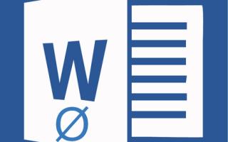 Знак диаметр в word
