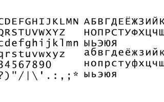 Лучший шрифт для презентации powerpoint