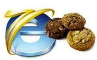 Cookie internet explorer