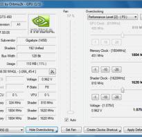 Программа для отслеживания температуры видеокарты nvidia